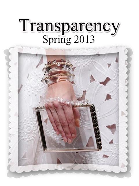 Spring Trend 2013 - Transparency - Valentino