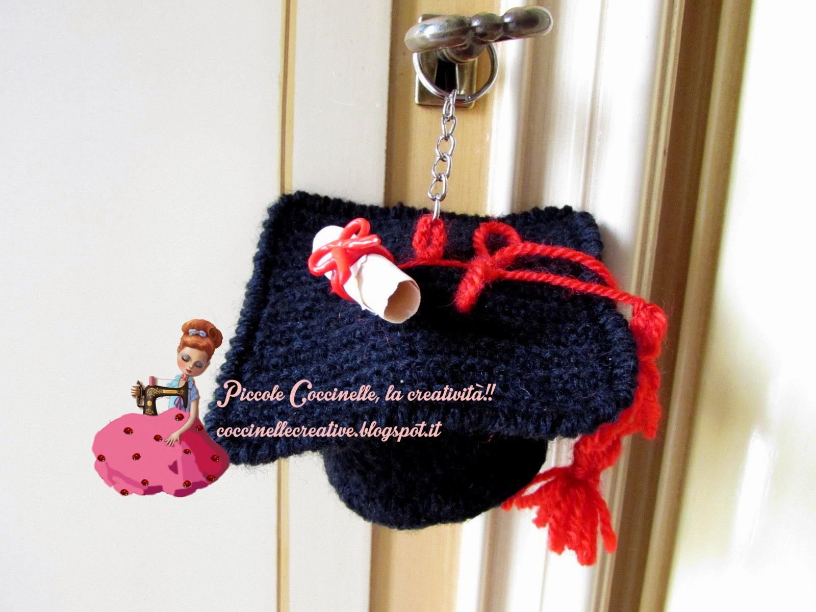 Piccole Coccinelle, La Creatività !! : Cappello Laurea Per