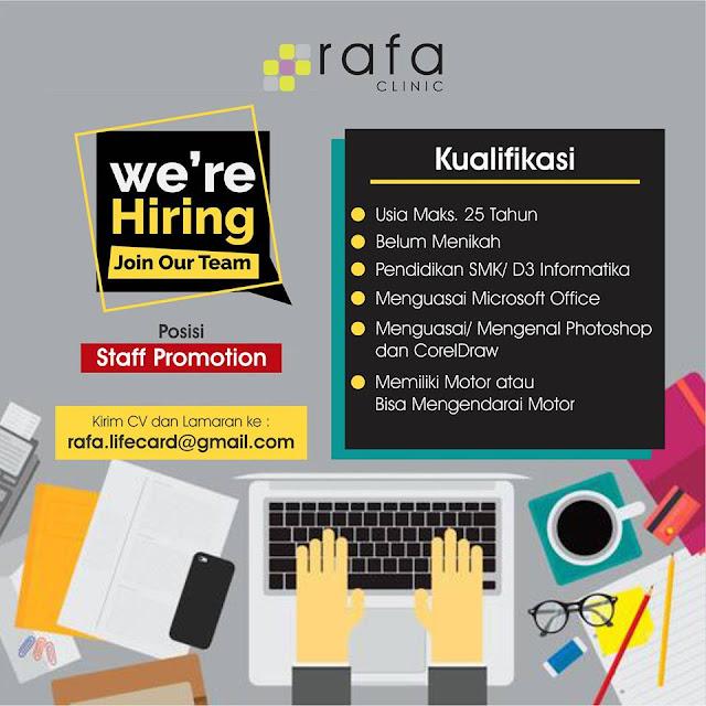 Lowongan Kerja Staff Promotion di Bandung