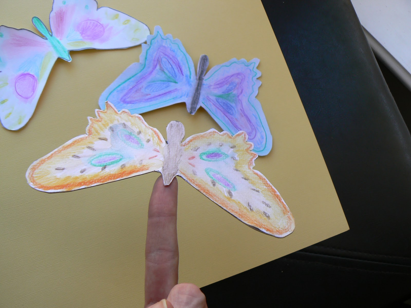 Michaels Craft Butterfly Paper