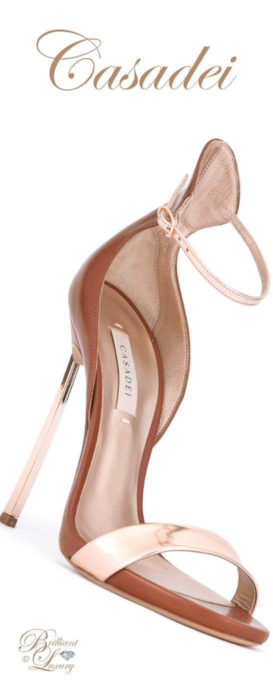 Brilliant Luxury ♦ Casadei Bicolour Sandals