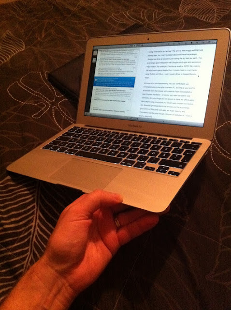 My 11-inch Macbook Air