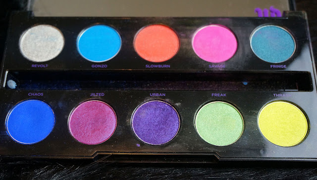 Urban Decay Electric Palette Eye Shadows