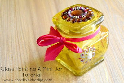 http://creativekhadija.com/2017/07/how-to-design-a-small-glass-jar-with-painting/