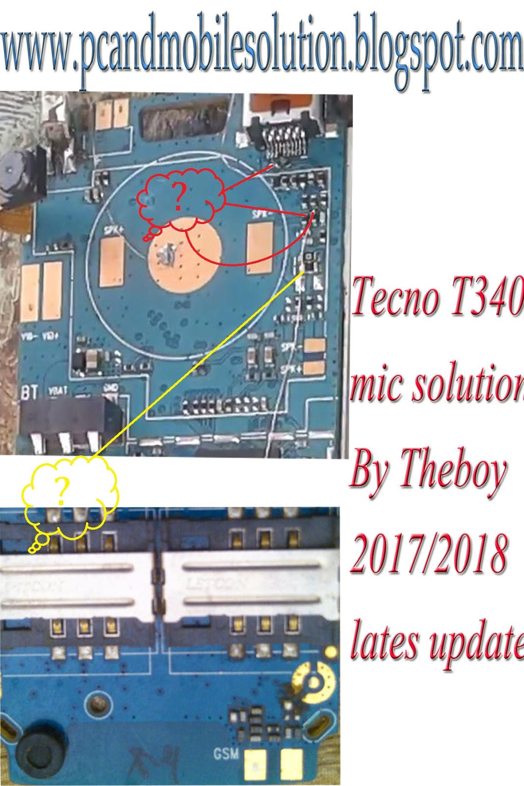 TECNO T340 MIC JUMPER NO CPU CHANGE - Jumare's blog