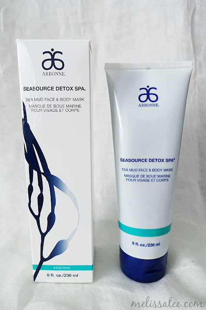 arbonne, arbonne seasource detox spa mask, arbonne seasource detox spa mask review