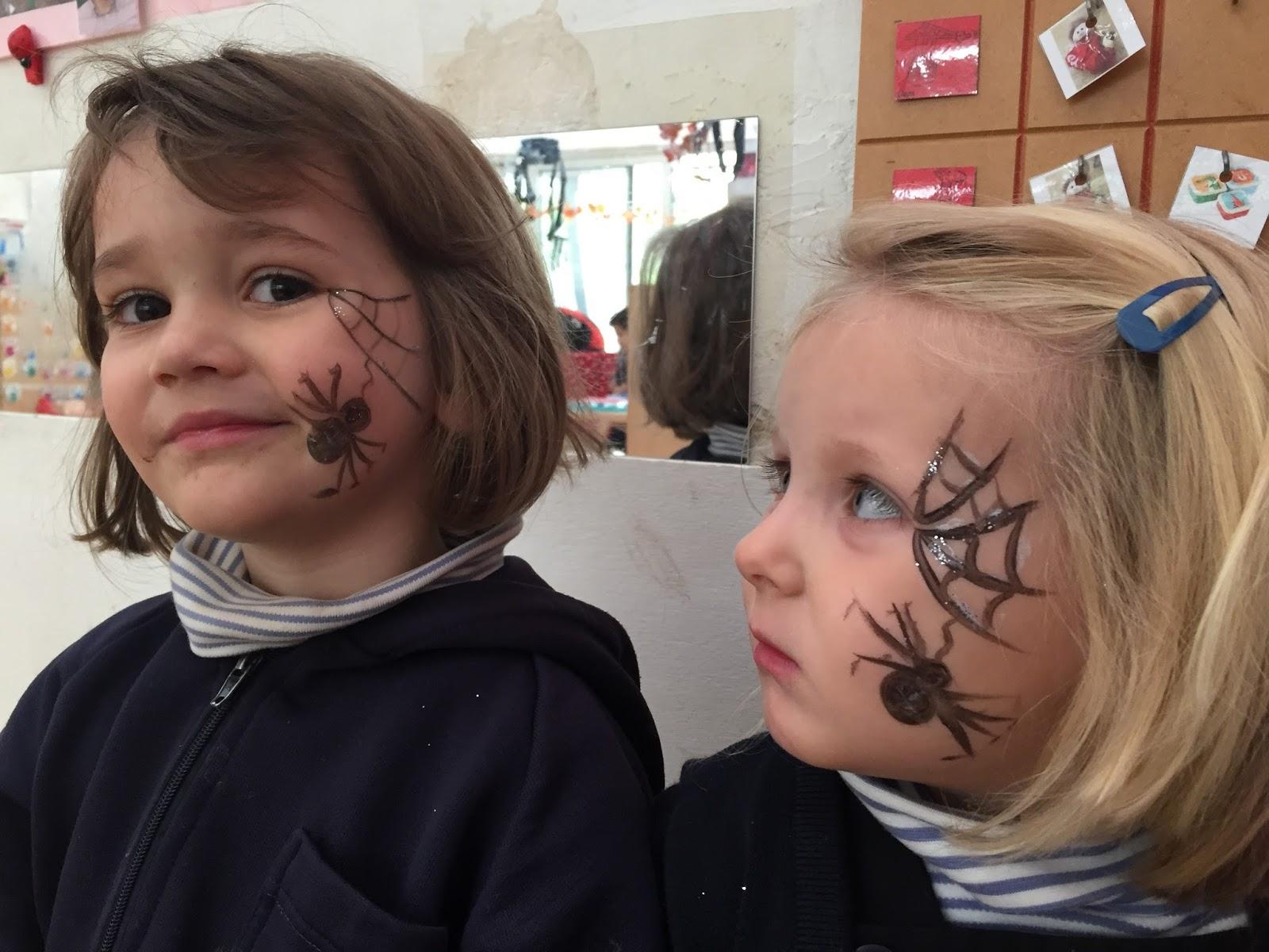 Eerste Kleuterklassen Sint Ludgardis Brasschaat Spinnen In