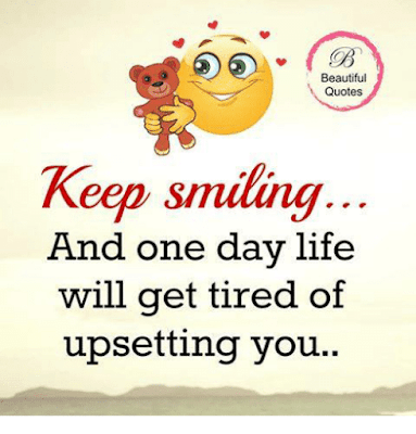 Keep Smiling Beautiful Quotes