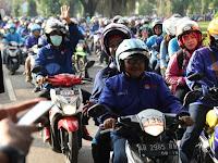708 Motor Konvoi Jelajahi Desa Wisata Di Sleman