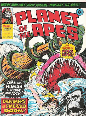 Marvel UK, Planet of the Apes #81