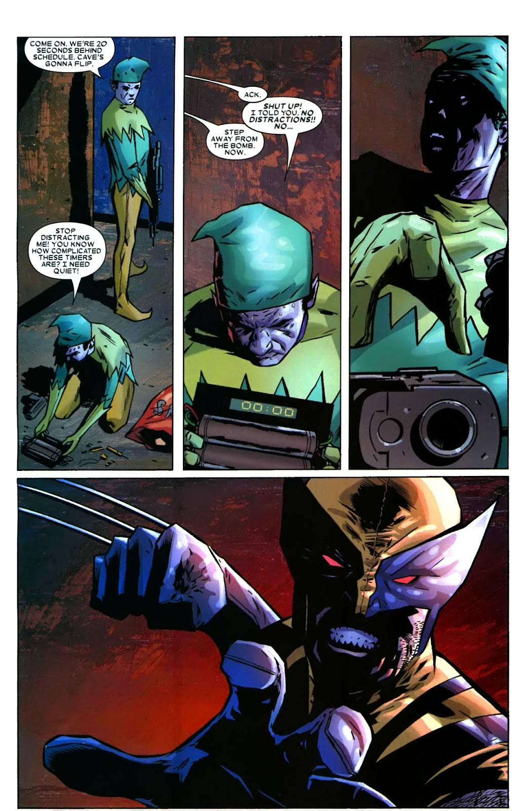 Read online Wolverine (2003) comic -  Issue #49 - 18