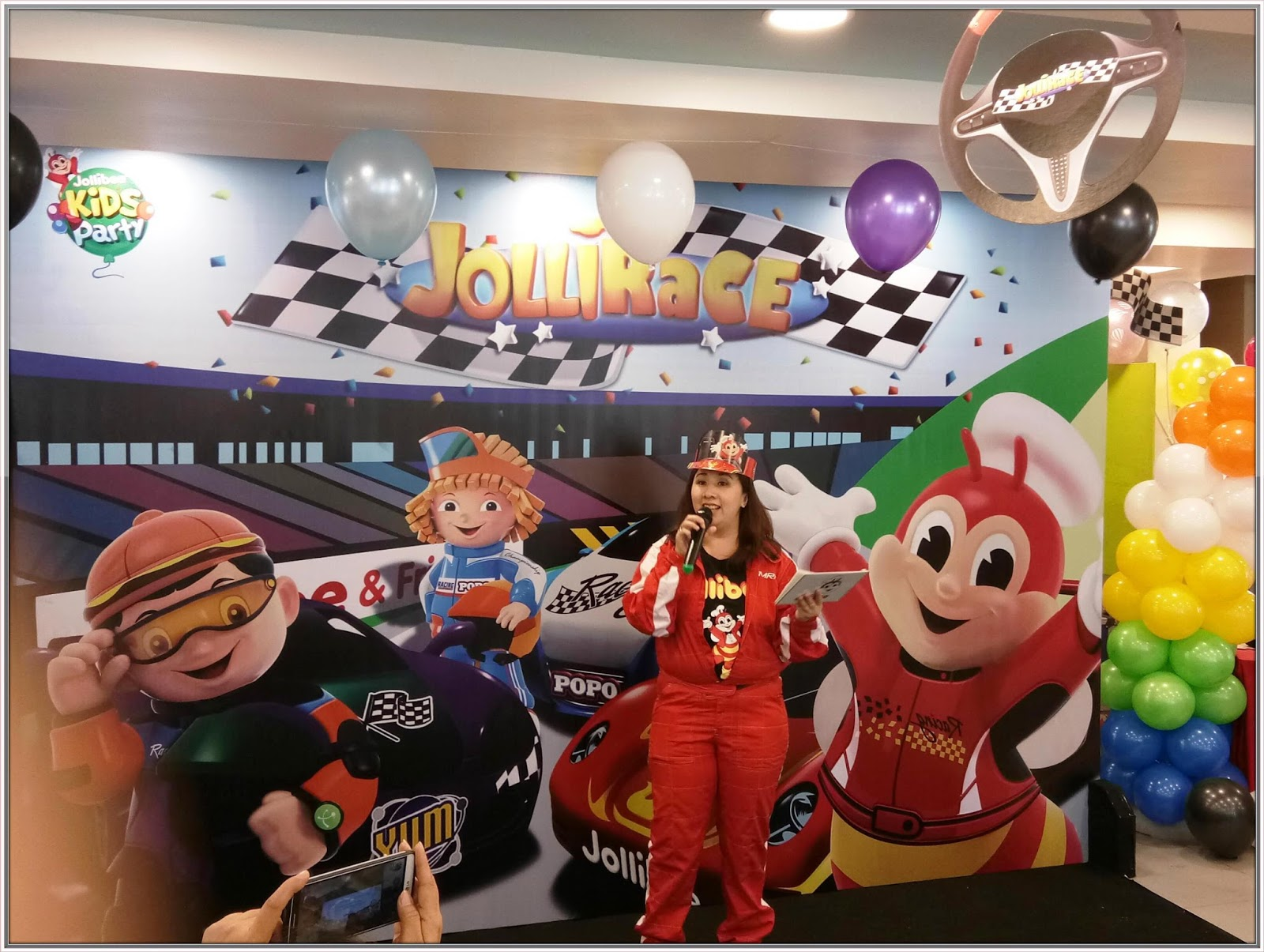 Jollibees new party theme jollirace my little world by mommy happy birthday to all march birthday celebrants stopboris Images