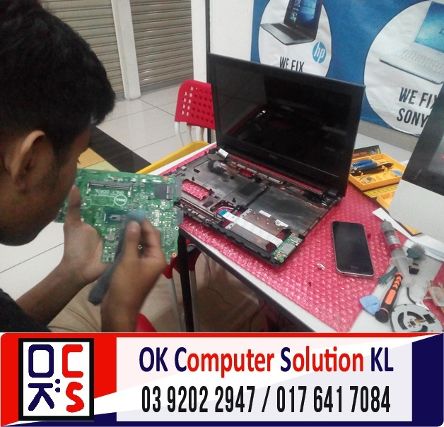 [SOLVED] DELL INSPIRON 14 TAK BOLEH ON | REPAIR LAPTOP CHERAS 5