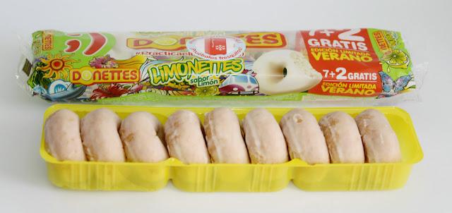 Donettes Limonettes degustabox junio