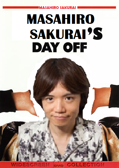 Masahiro Sakurai should be like Ferris Bueller and get a day off.