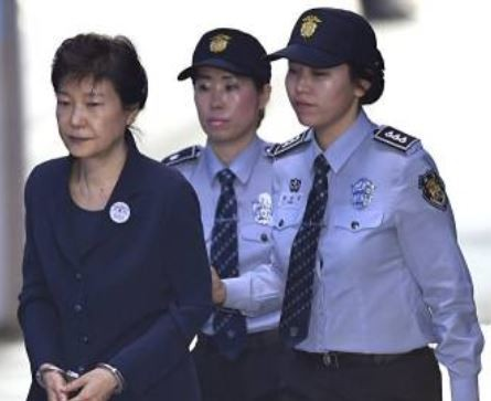 South Korea's ex female president who is already serving a 24 year jail term for corruption, gets another Eight years