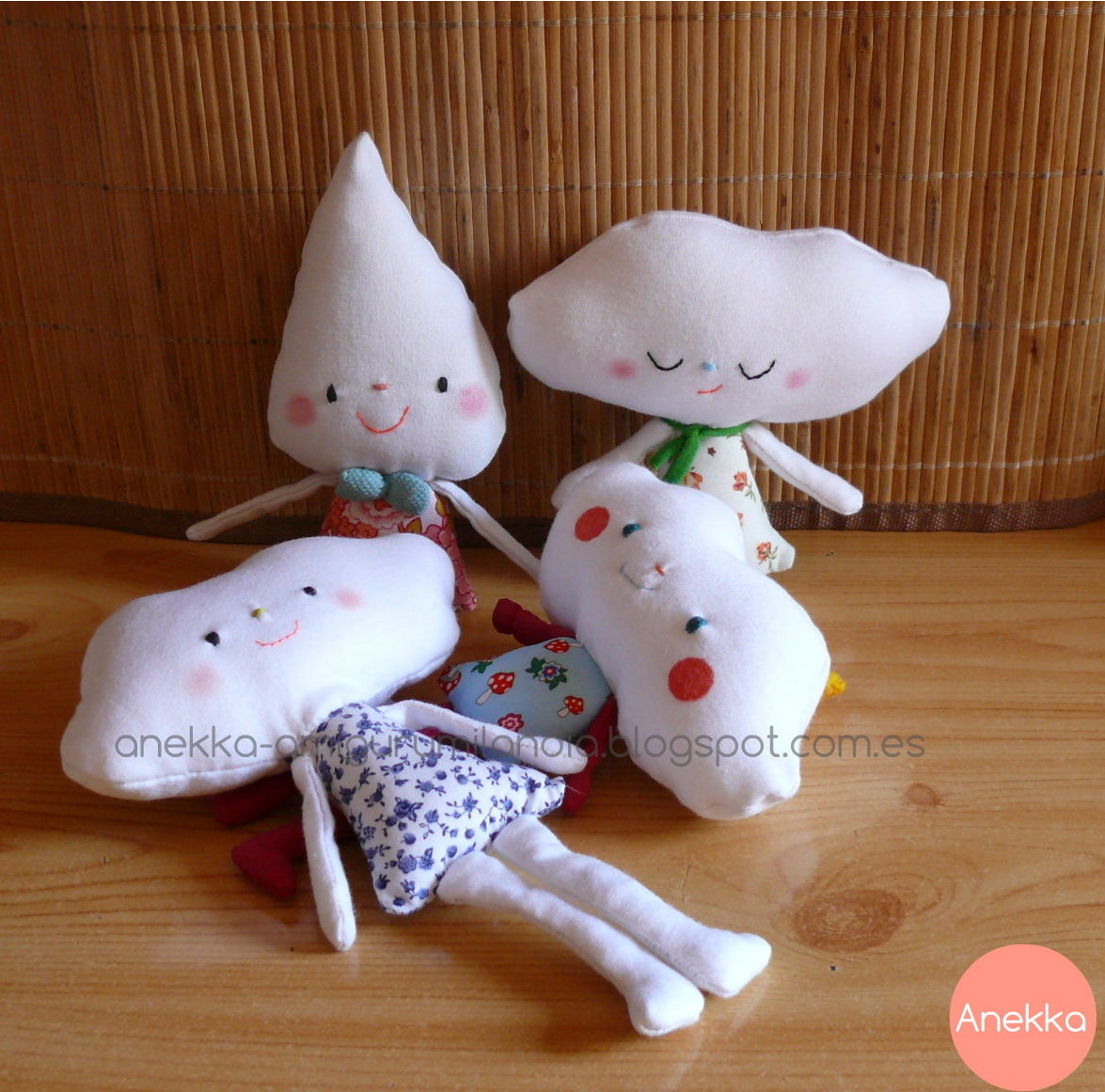 fabric doll handmade anekka