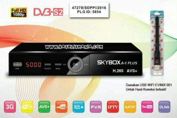 Skybox A1 Plus AVS+ H265