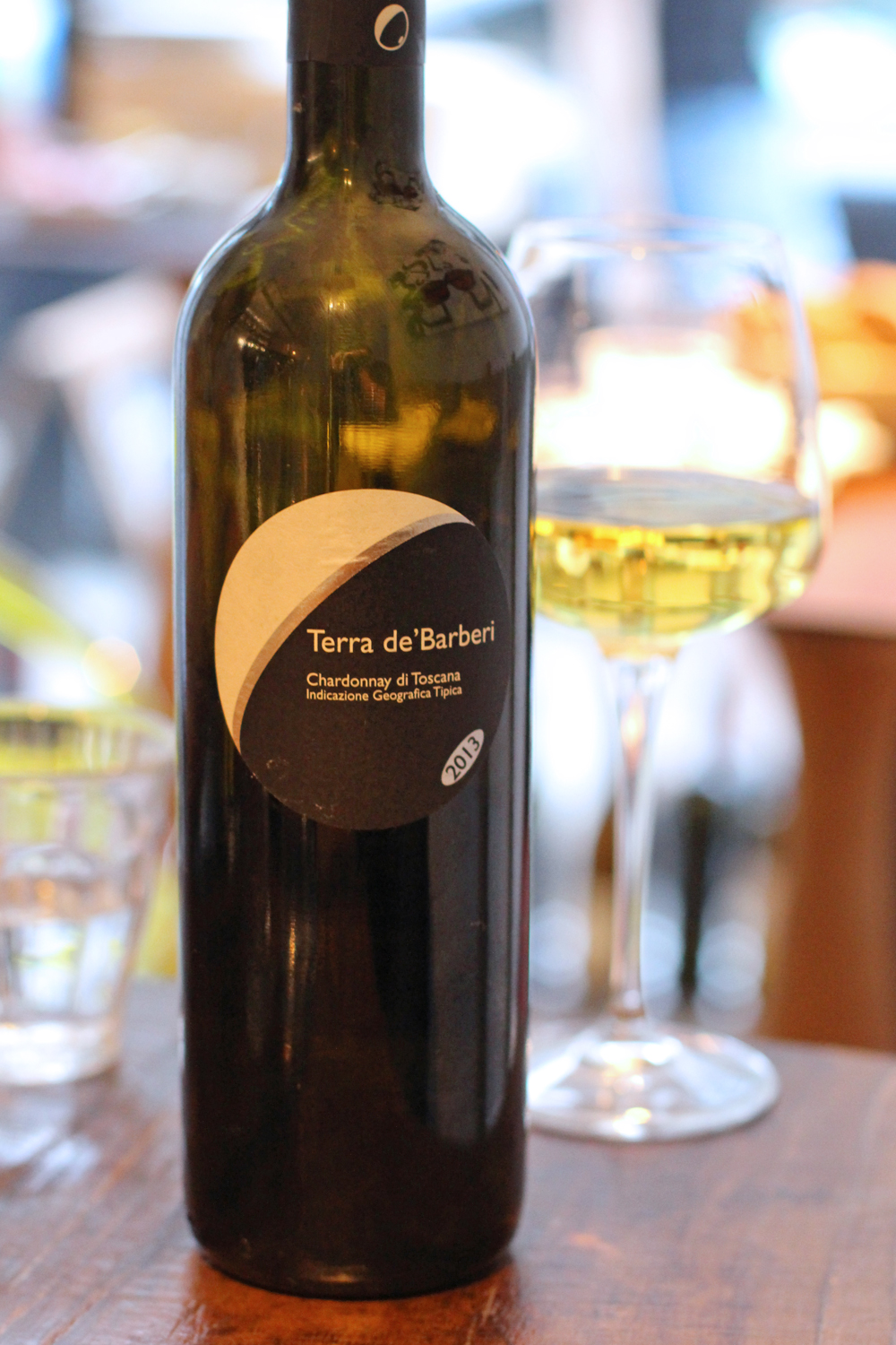 Terra de'Barberi chardonnay at Enoteca Pomaio, Brick Lane - London lifestyle blog
