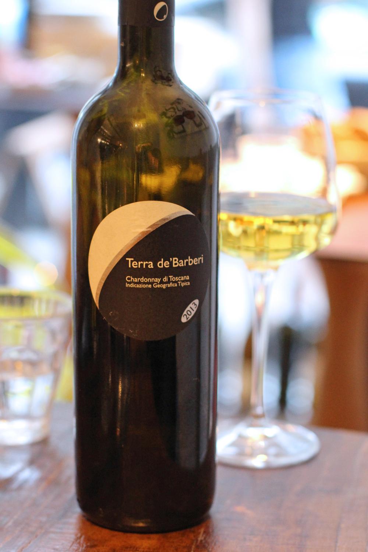 Terra de'Barberi chardonnay at Enoteca Pomaio, Brick Lane - London lifestyle blog