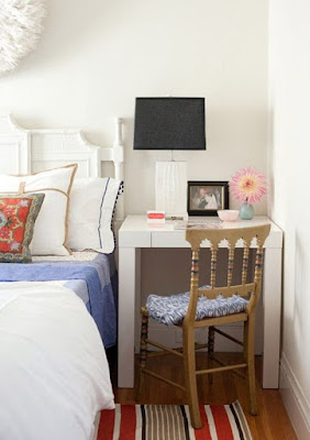 idéias para colocar uma escrivaninha no quarto