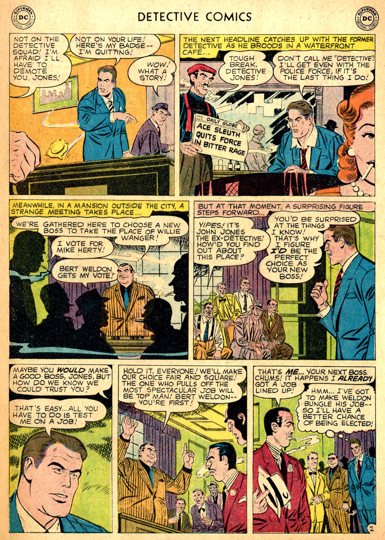Read online Detective Comics (1937) comic -  Issue #257 - 28