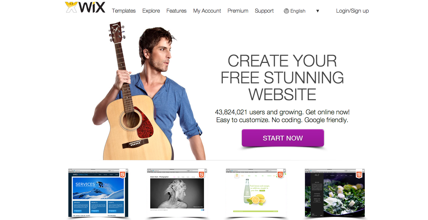 Top 10 Website Builders of 2014