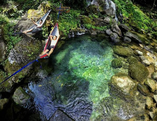 Wisata Bandung Barat Sendang Geulis Kahuripan, Cikalong Wetan
