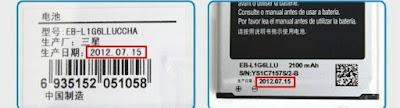 Baterai samsung ori dan palsu