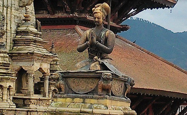 Xvlor Nyatapola Temple is Lakshmi pagoda built by King Bhupatindra Malla