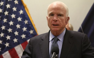 Explained: John McCain's skull surgery - and why his blood clot could have caused him to act so bizarrely in the Comey hearing
