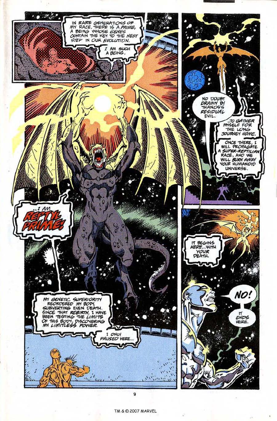 Read online Silver Surfer (1987) comic -  Issue #65 - 11