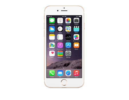 Apple iPhone 6 With FaceTime 64GB, 4G LTE, Silver