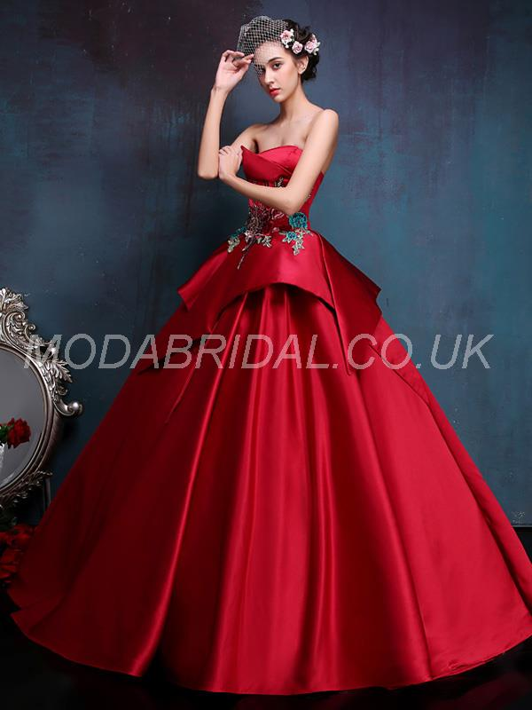 Red Evening Gowns For Wedding