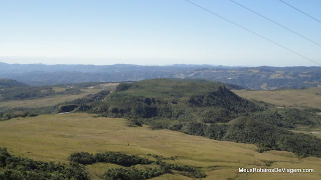 Vista do Mirante da Serra da Boa Vista - Rancho Queimado / SC