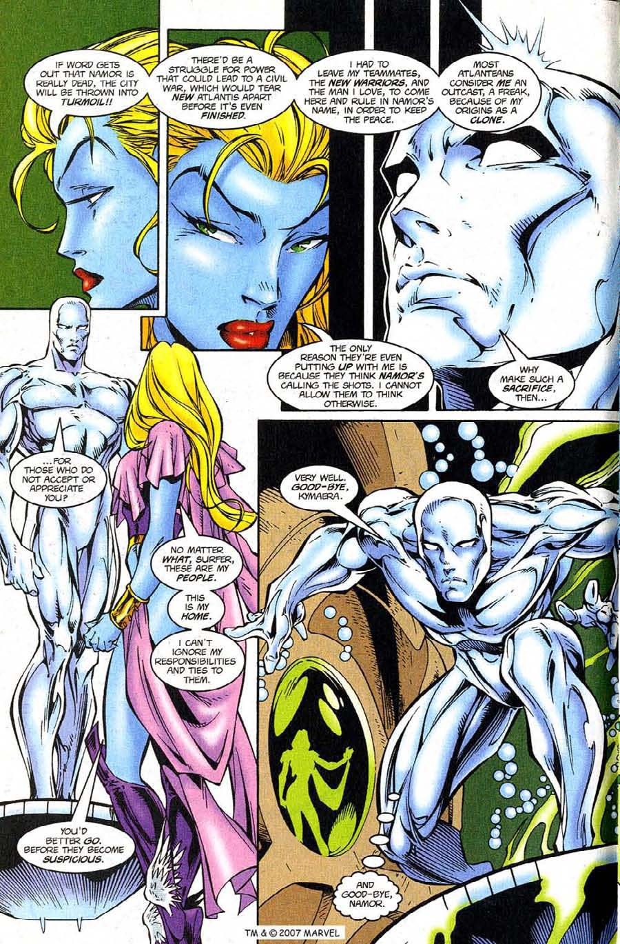 Read online Silver Surfer (1987) comic -  Issue #124 - 8