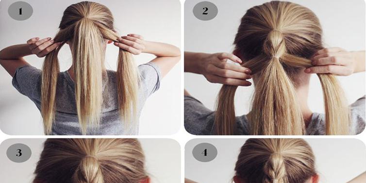 DIY Wide Braid Hairstyle In 10 Minute Toronto Calgary Edmonton