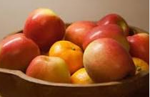 nutritional content of apple