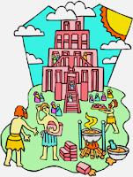Leyenda de la Torre de Babel para niños