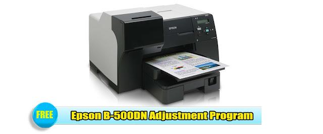 Epson B-500DN Adjustment Program