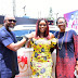 Photo News: Multichoice Presents Brand New SUV to Bisola Aiyeola
