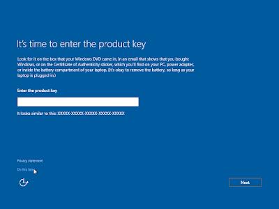 Mudahnya Installasi  Windows 10 (Education Only)