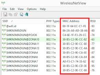 Mengetahui MAC Address Router dan Access Point