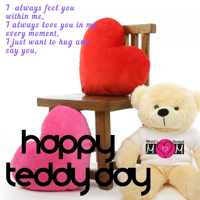 Images Wishes Quotes for #HappyTeddyDay WhatsApp Status