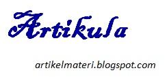Kata Sandang (Artikula) : Pengertian, Fungsi, Jenis dan Contohnya
