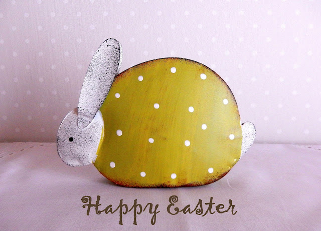 Bunny Easter greetings cards