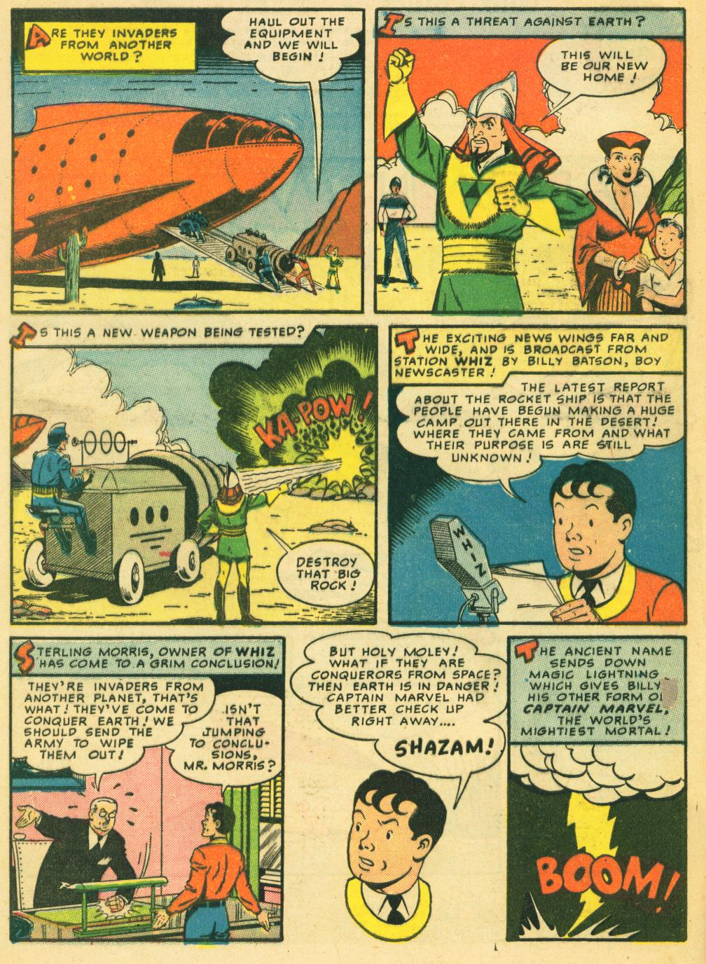 WHIZ Comics issue 119 - Page 4