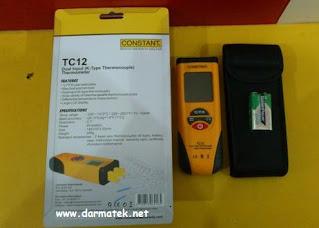 Darmatek Jual Constant TC-12 Dual Input Contact Thermometer