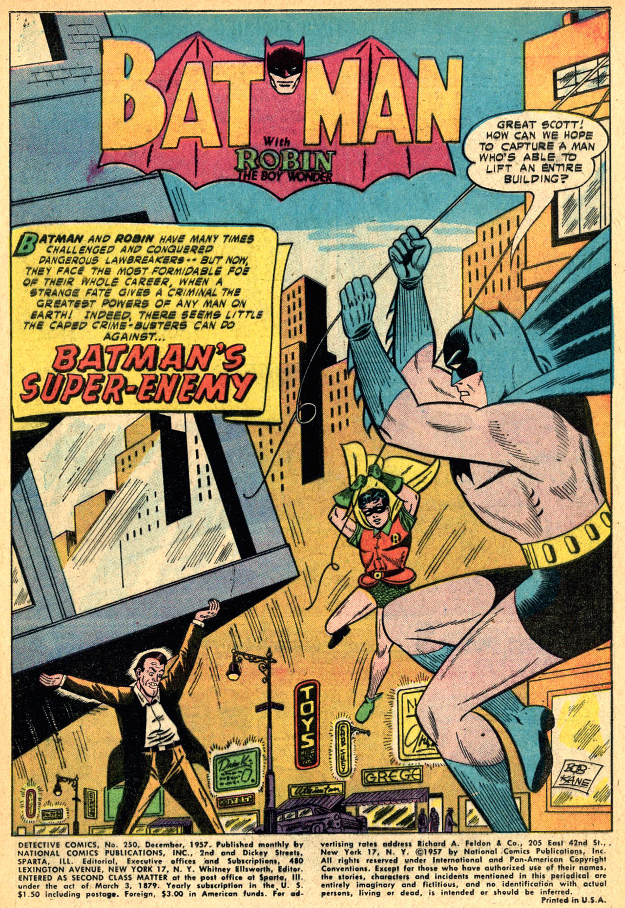 Read online Detective Comics (1937) comic -  Issue #250 - 3