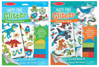 Melissa and Doug Mess Free Glitter